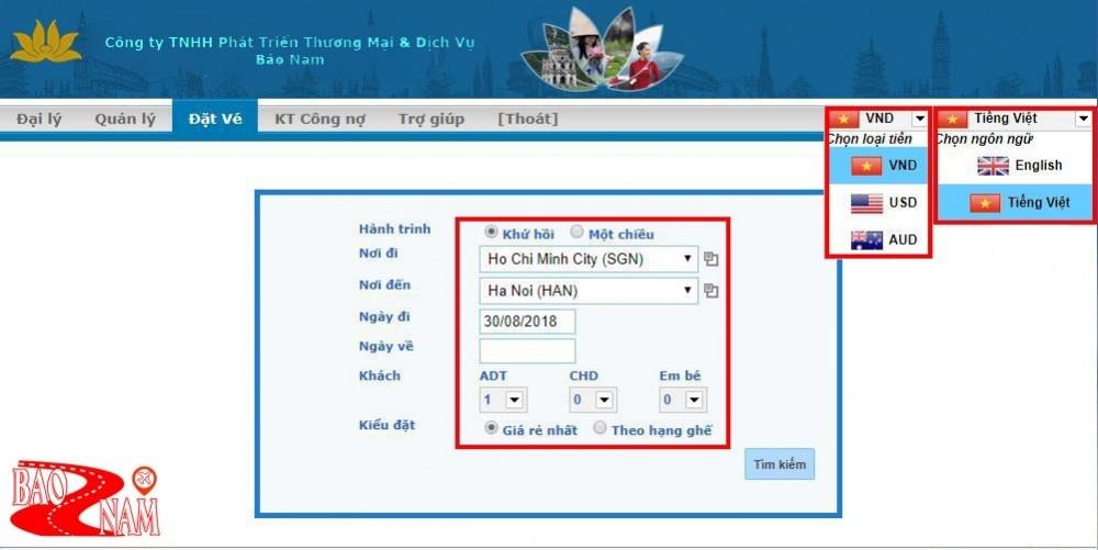 Giới thiệu vemaybaybaonam.com -Hệ thống phân phối vé máy bay hàng đầu cho Doanh nghiệp -2