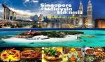 SINGAPORE-INDONESIA-MALAYSIA  - ĐI MÁY BAY