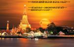 THÁI LAN - KHỞI HÀNH HÀNG NGÀY - ĐI MÁY BAY