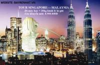 SINGAPORE -MALAYSIA - ĐI MÁY BAY