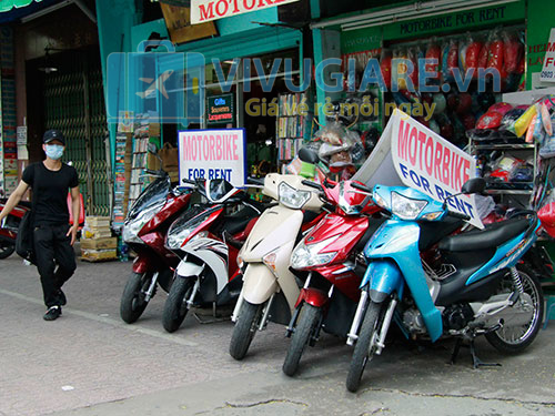 Thuê xe máy tại Bali