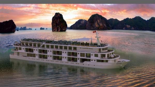 2N1Đ ở du thuyền Paradise Grand Lan Hạ 5 sao + 3 bữa ăn + Xe đưa đón từ Hà Nội chỉ 4.xxx.000 đồng