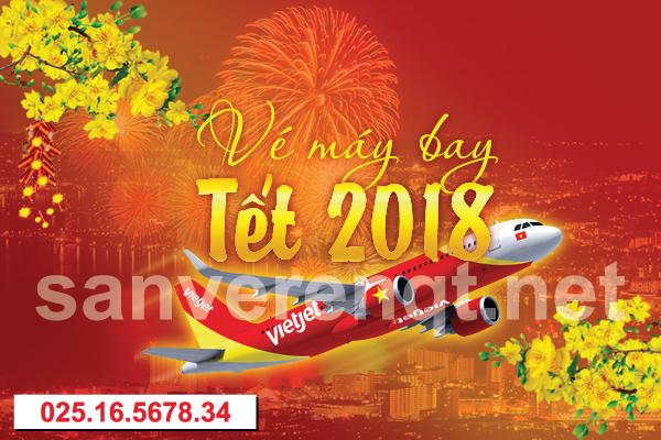 Vé máy bay Tết 2018