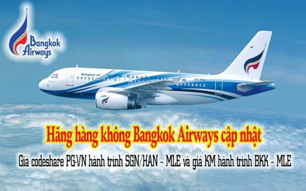 Hãng Hàng không Bangkok Airways cập nhật khuyến mãi   bayrenhat.vn
