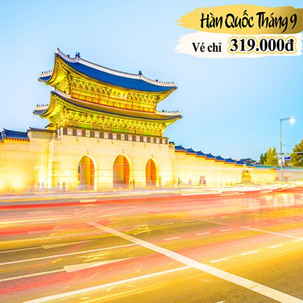 Du lịch tháng 9 tại Hàn Quốc, liệu có nên không?