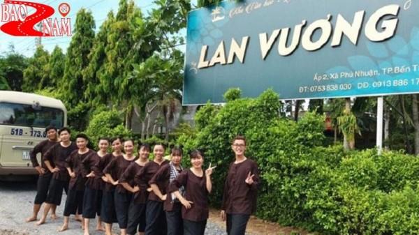 Thỏa sức vui chơi tại khu du lịch Lan Vương tỉnh Bến Tre