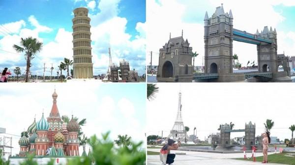Phá đảo khu du lịch 7 kỳ quan thế giới ở Long An