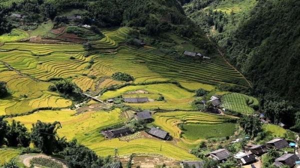 Hãy thử một lần khám phá vẻ đẹp thung lũng Mường Hoa từ trên cao