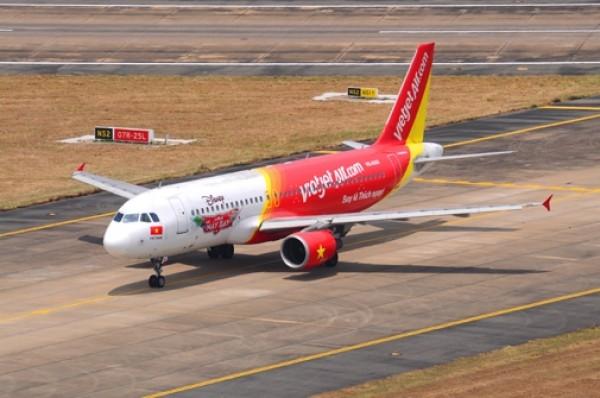 Đặt vé máy bay giá rẻ và khuyến mãi của hãng hàng không Vietjet Air