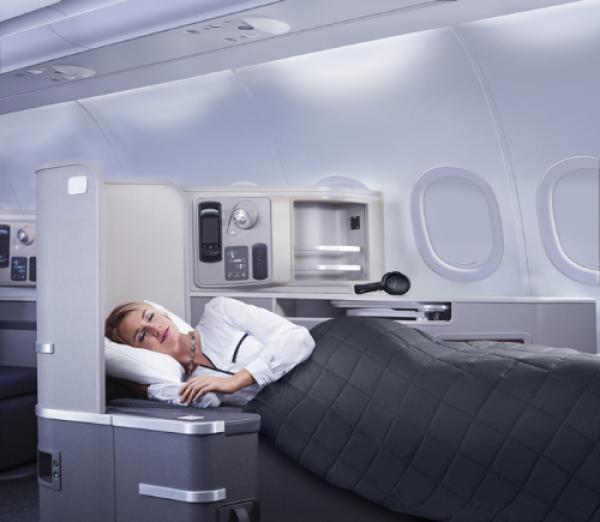 10 tiện ích khi bay hạng thương gia cùng American Airlines