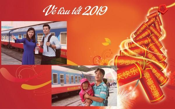 Kế hoạch chạy tàu và công tác phục vụ hành khách trong dịp Tết Kỷ Hợi 2019