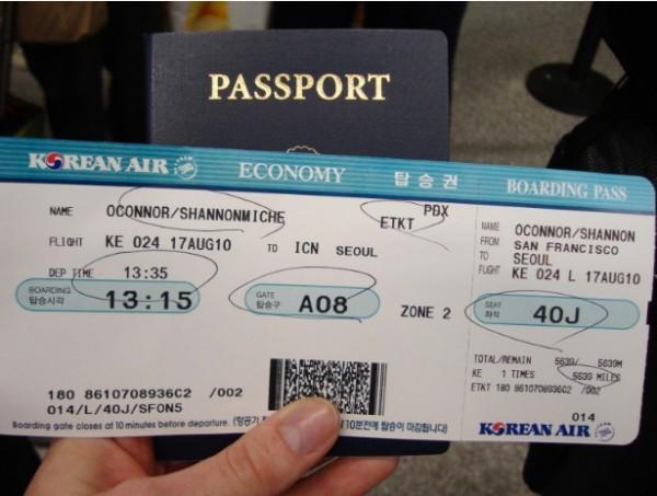 Mua vé máy bay đi Mỹ hãng Korean gồm những quy định gì