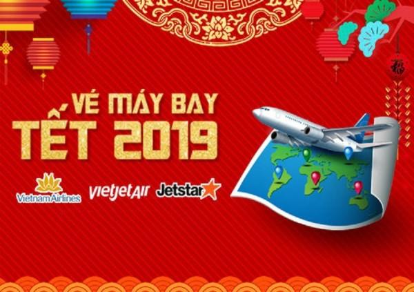 Lưu ý khi đặt vé máy bay tết 2019