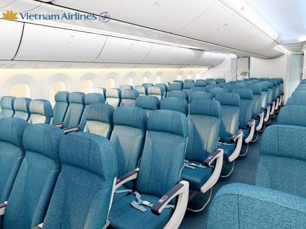 Số ghế trên máy bay Vietnam Airline