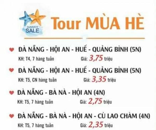 TOUR HOT MIỀN TRUNG 2018