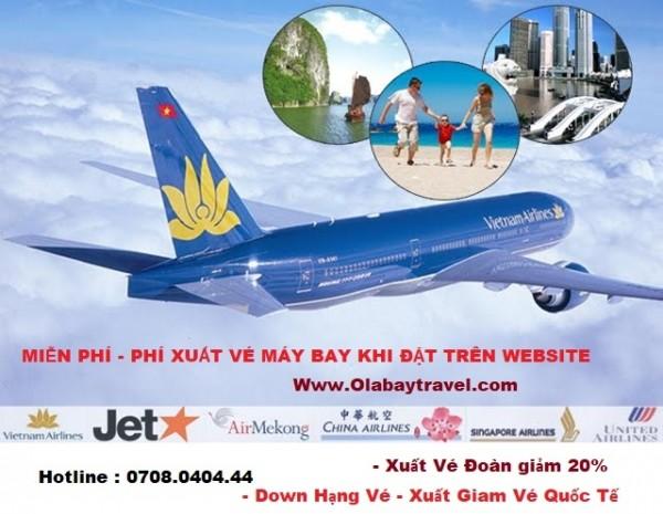 KHUYẾN MÃI = Miễn phí -Phí xuất vé máy bay cho khách lẻ - Gía rẻ