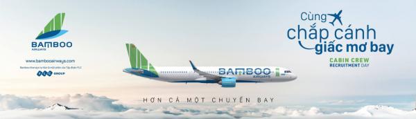 Bamboo mở đường bay tại Vinh