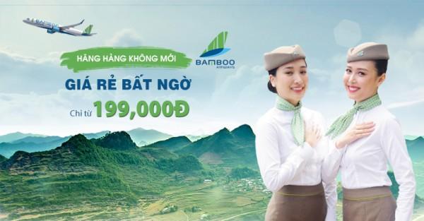 Bùng nổ vé rẻ với hãng hàng không nội địa mới Bamboo Airways