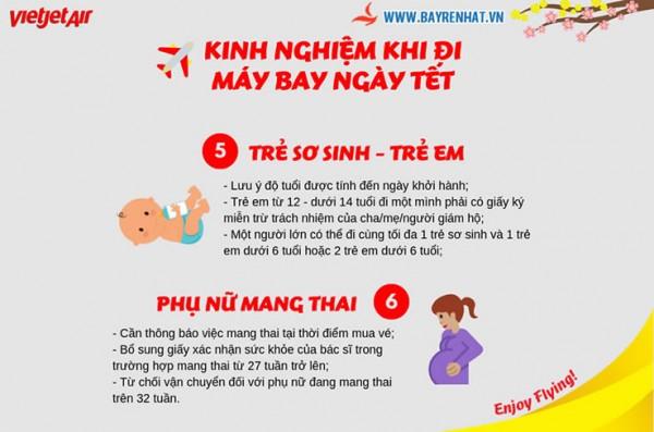 Kinh Nghiệm Khi Đi Máy Bay Ngày Tết Cùng VietJet Air