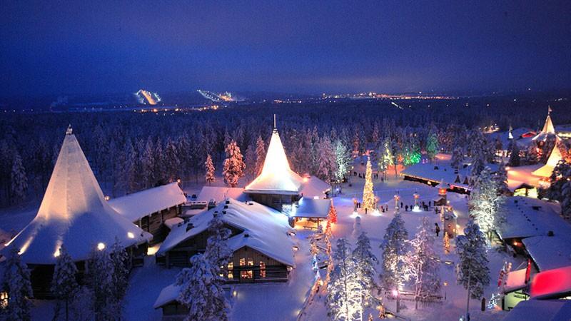 Tham gia những trải nghiệm thú vị tại quê hương của ông già Noel 2