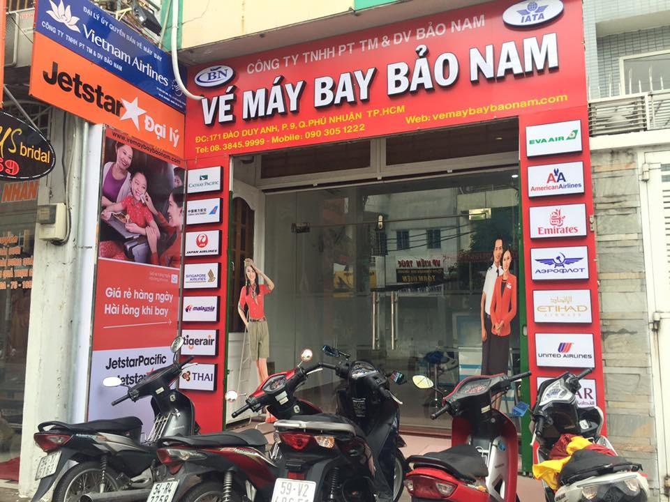 Giới thiệu về công ty Bảo Nam và hệ thống vé máy bay website bayrenhat.vn -1