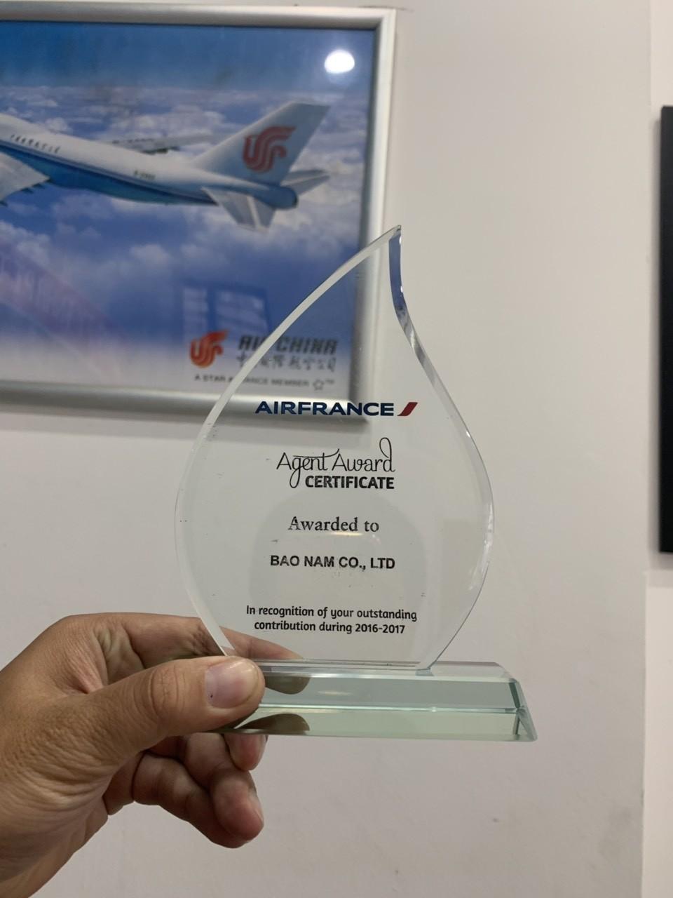 Giải thưởng của các hãng hàng không 9