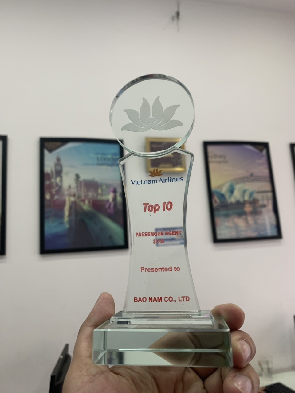 Giải thưởng của các hãng hàng không 2